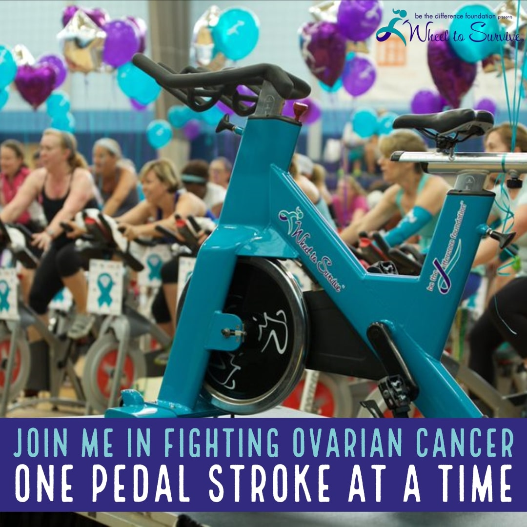 Join me in Fighting Ovarian Cancer One Pedal Stroke at a Time