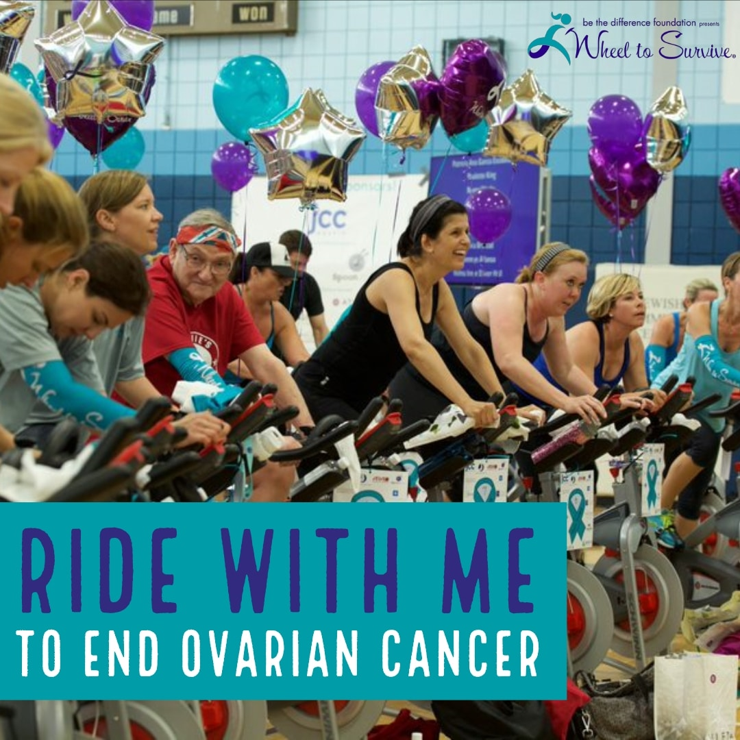Ride With Me To End Ovarian Cancer