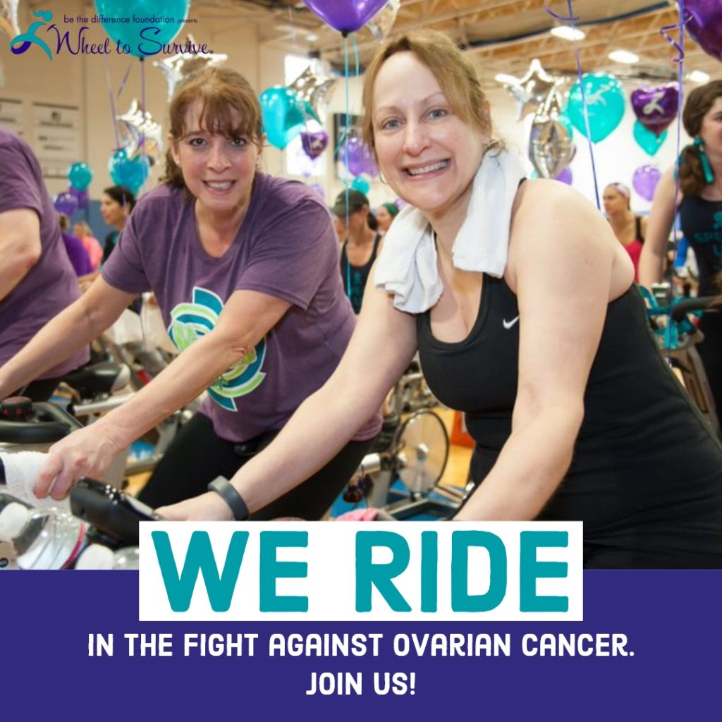 We Ride In the Fight Against Ovarian Cancer.  Join Us!